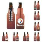 NFL Football Beer Bottle Holder Pigskin Cooler -Neoprene Cooler -Pick your team! $8.99 USD on eBay
