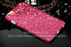 Super Bling Hot Pink Austria Diamond Crystal  Case Cover For iPhone 6S/6S Plus