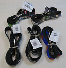 BUCKLE-DOWN PET PRODUCT; DOG LEASH NEW WITH TAG, MADE IN USA, COLORFUL
