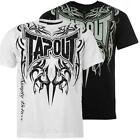 "New Mens Tapout Cotton T-Shirt  Sz M (38/40"") Black White  MMA UFC Cage Fighting"