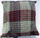 "100% Wool Cushion British Recycled Wool Celtic Weave Pillow Pad Included 16""x16"""