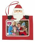 Blank Santa Christmas Tree Ornament Insert Your Own Photo 70mm x45mm