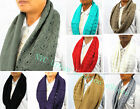 New Style Women Soft Warm Infinity Loop Scarf Fall/Winter/Spring Daily Wear#683