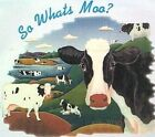 NEW! Womens SO WHATS MOO? Cow STEEL BLUE Unisex Crew Neck T-Shirt XL 2X or 3X