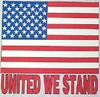 NEW! Mens/Womens Patriotic USA Flag UNITED WE STAND Unisex T-Shirt SIZE S - 3X