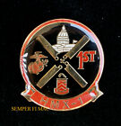 HMX-1 VH-60 Black Hawk VH-53E MCAS QUANTICO HAT PIN US MARINE ONE HELICOPTER WOW