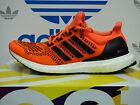 NEW ADIDAS Ultra Boost Men's Running Shoes - Orange/Black;  S77413