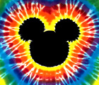 THE ORIGINAL CUSTOM 2-Sided MICKEY MOUSE FAMOUS Tie-Dye FAMILY SHIRTS  tye die