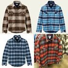 NWT Timberland Men's Cutler River Flannel Overshirt Cotton Jacket Style #8233J