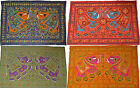 """Elephant Wall Hanging Indian Hippy Ethnic Sequin Tapestry Embroidered 54"""" 137cm"""