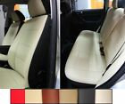 FRONT and REAR LEATHERETTE CUSTOM CAR SEAT COVERS Fits S-Class 1979-1994 W126