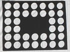 36 Poker Chip Display Frame Insert no cut out Fits Casino/Harley Davidson