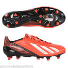 ADIDAS MENS FOOTBALL BOOTS ADIZERO F50 SG RRP £150 RED/WHITE FREE UK SHIPPING