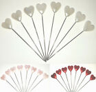 Dressmaking Florist Heart Pins Wedding Bouquet Buttonholes Craft Floristry