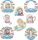 "ABC Designs Oktoberfest Machine Embroidery Designs SET 5""x7"" hoop 8 Designs"
