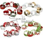 CHRISTMAS PAPER CHAINS x100 -Xmas Garland / Banner / Festive Hanging Decoration