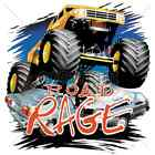 Road Rage Monster Truck T-Shirt & Tank Tops All Sizes & Colors New