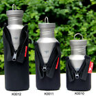 Bottles Cover Sport Water Bottle Pouch Camping Bottles Poch Black