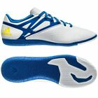 adidas F 15.3 TRX IN Messi Edt Indoor 2015 Soccer Shoes Brand New White / Blue