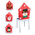 1pc Mr & Mrs Santa Claus Elk Snowman Christmas Xmas Chair Cover Home Party Decor