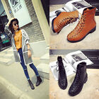 New Arrival Ankle Women Boots Pumps Laces Martin Block Low Heel Lady Shoes F137