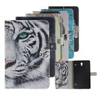 Magnetic Painting Stand PU leather Flip Wallet Case For Samsung Galaxy Tab S 8.4