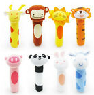 Lovely Cute Cartoon Newborn Baby Toys Soft Plush Animal Model Squeeze Toy Gift