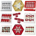 LUXURY CHRISTMAS CRACKERS - 4 Themes - Festive Xmas Party/Table Decoration/Gifts