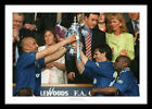 Chelsea FC 1997 FA Cup Final Vialli and Zola Photo Memorabilia (796)