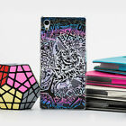 Fashion Skull Painted Pattern Hard Back Case Cover Skin For Sony Xperia Phone