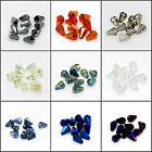 New Pretty 10pcs 10x14mm Faceted Cone Body Glass Crystal Loose Spacer Beads