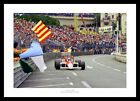 Alain Prost 1988 Monaco Grand Prix Formula 1 Legends Photo Memorabilia (868)
