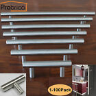1/10/50 Pack Lot  Stainless Steel T Bar Cabinet Door Handles Drawer Pulls Knobs