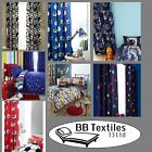 CATHERINE LANSFIELD KIDS/BOYS 66X72 FULLY LINED BEDROOM CURTAINS COTTON BLEND