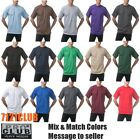 "LOT 3 PACK PRO CLUB T SHIRT PROCLUB MEN HEAVYWEIGHT PLAIN TEE BIG AND TALL S-7XL <br/> ""SNUG NECK"" USE OUR CHEST/ SIZE CHART TO FIND YOUR SIZE"