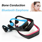 Bone Conduction Open Headphone Wireless Bluetooth Stereo Sports Headset With Mic