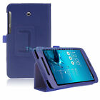 For ASUS MeMO Pad 7 LTE (ME375CL) Flip PU Leather Folio Fit Cover Stand Case