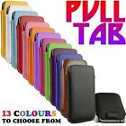 Pull Tab Ultra Slim PU Leather Sleeve Pouch Pocket Case Cover for Samsung Galaxy