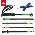 Adjustable 7075Aluminum Folding Antishock Walking Stick Trekking Pole Alpenstock