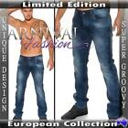 NEW MEN'S DARK BLUE JEANS FOR MEN JEAN PANTS DENIM WEAR MENS fashion CLOTHES man
