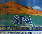 ISRAEL DEAD SEA SALT NATURAL WHITE JASMINE ROSE VANILLA APPLE MAGNESIUM RICHED