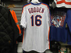 Dwight Gooden NY Mets Cooperstown 1986 Pinstripe Pullover Jersey Free Postage