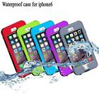 Waterproof Shockproof Dirt Proof Touchscreen Case Cover For iPhone 6 6G 6S Plus