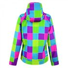 WOMEN'S DARE 2B LEVITY PATTERNED WATER REPELLENT SOFTSHELL JACKET.