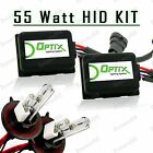 55W HID Head Light Hi Lo Xenon Lights Slim Kit Plug N Play Bulb Size - H13 9008