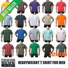 PRO CLUB HEAVYWEIGHT T SHIRTS PROCLUB MENS PLAIN CREWNECK SHORT SLEEVE TEE S-7XL image