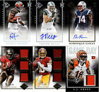 2014 Panini Leaf Limited Auto Autograph Jersey Relic or Base Card You Pick