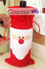 Xmas Christmas Wine Beer Bottle Cover Case Decoration Family Party Home Dinner