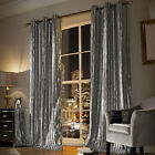Kylie Minogue iliana Silver Ready made Eyelet Lined Curtains