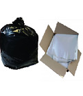 Strong Clear Refuse Rubbish Sack Liner Bags For Wheelie Bins 30x46x54'' (240L)